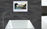 "Soulaca 27"" Framless Android Smart Full HD 1080 Waterproof Bathroom Black Color LED TV"