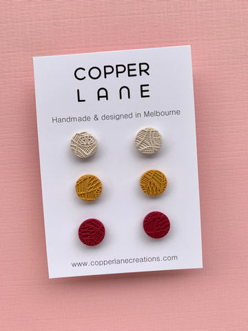 Embossed Stud Pack - Winter