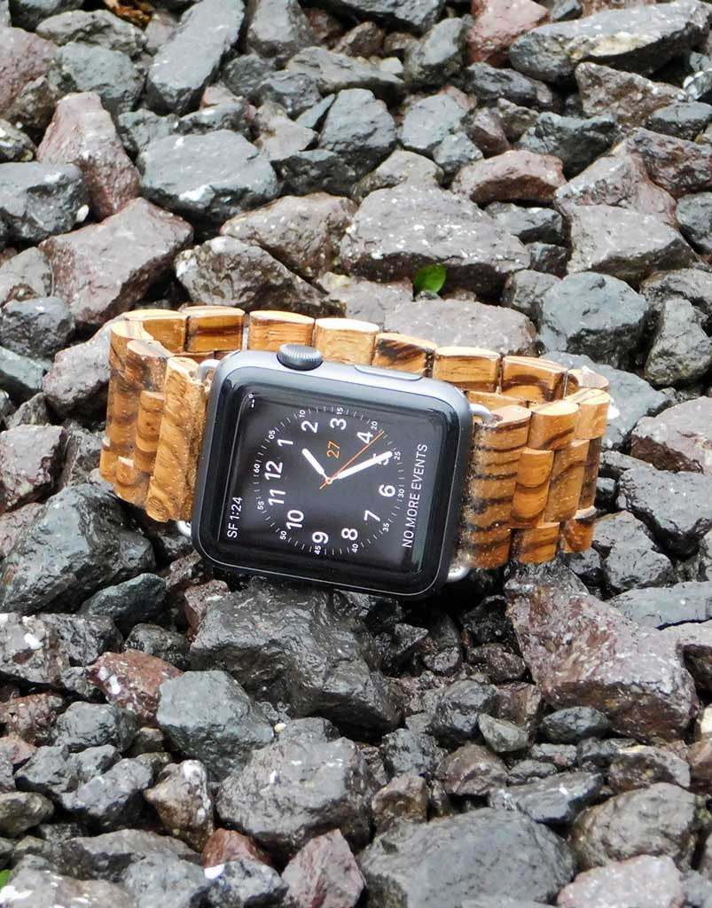Apple Watch - Gabonese Zebrawood