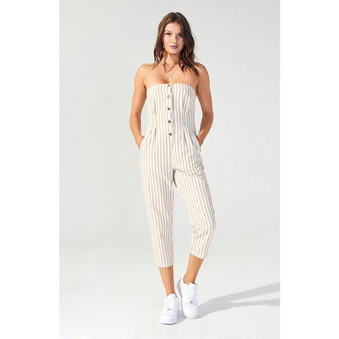 Run Free Stripe Jumpsuit