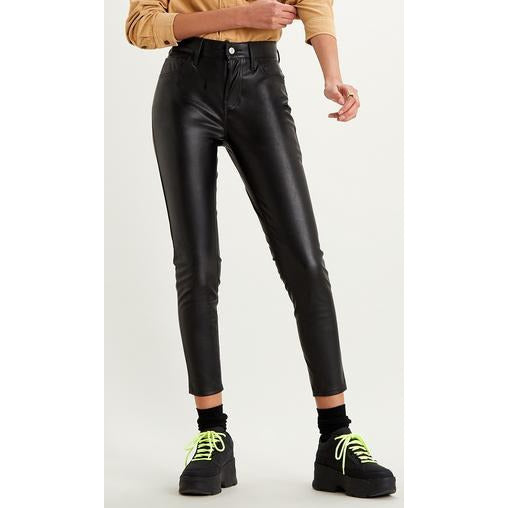 720 Faux Leather Ankle Pant