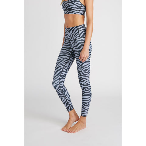 Zebra- High Waisted Leggings