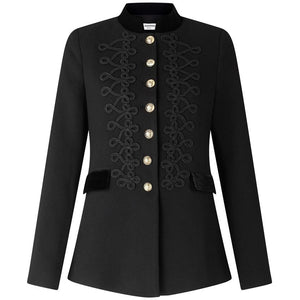Military Style Tailored Blazer