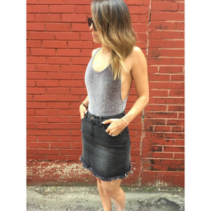 Sidewalk Cut-Off Mini Skirt