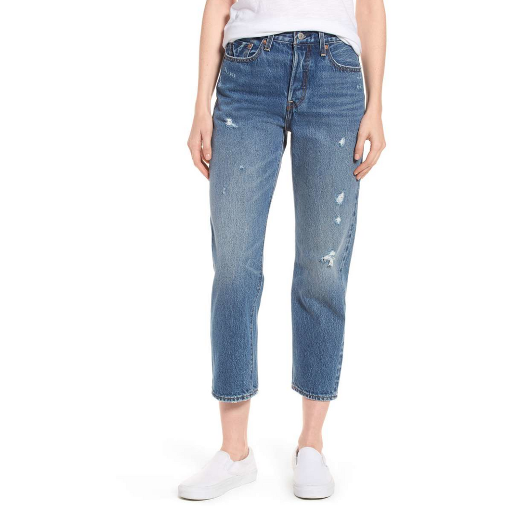 Wedgie High Waist Straight Jean