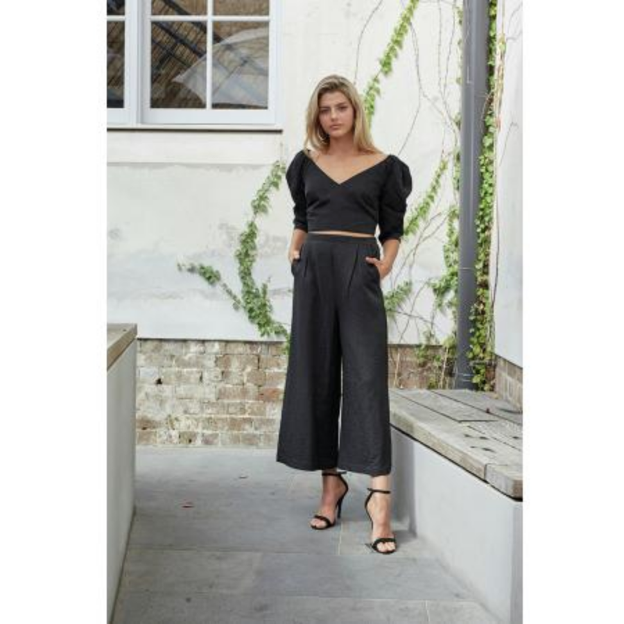 Box Pleat Pant