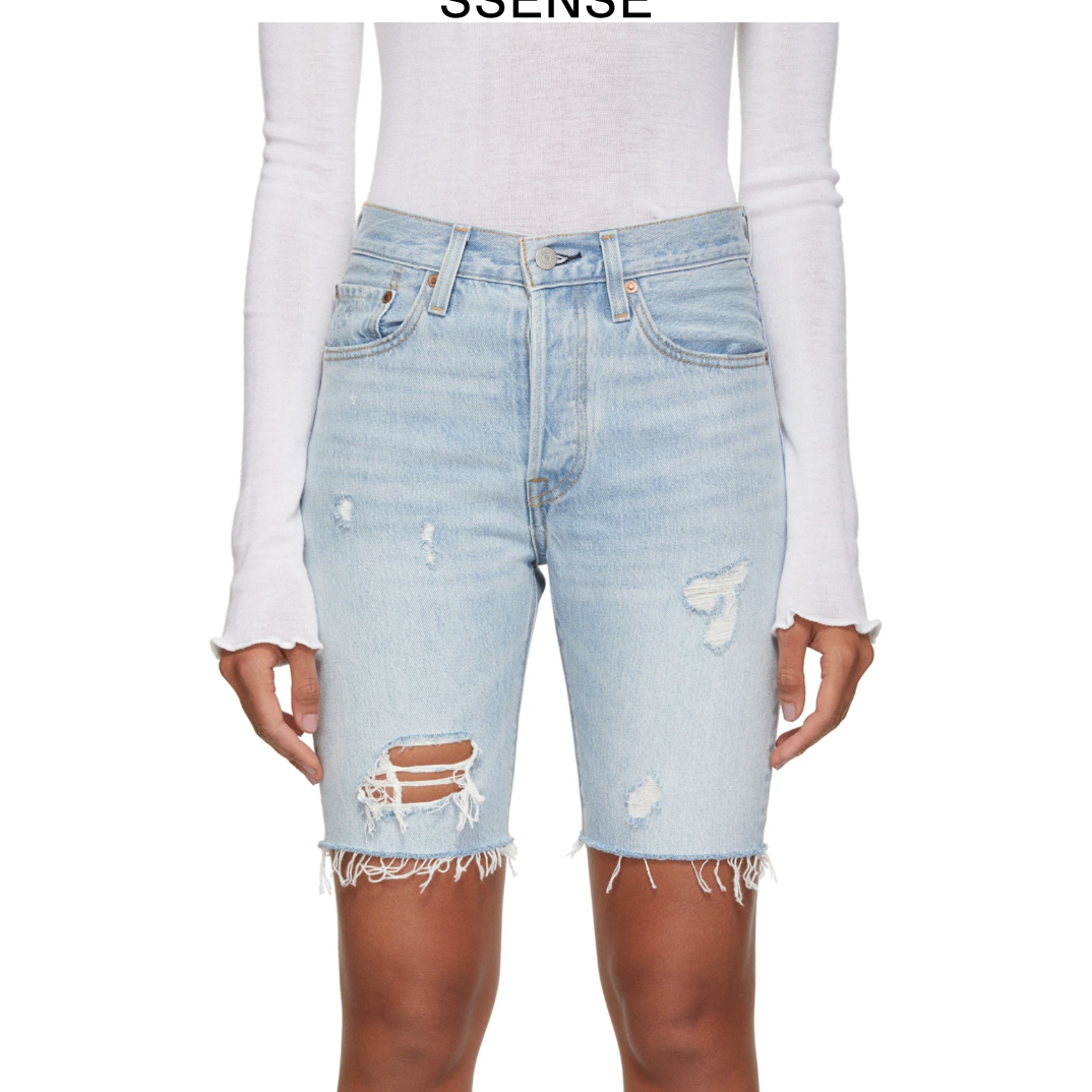 501 Slouch Short