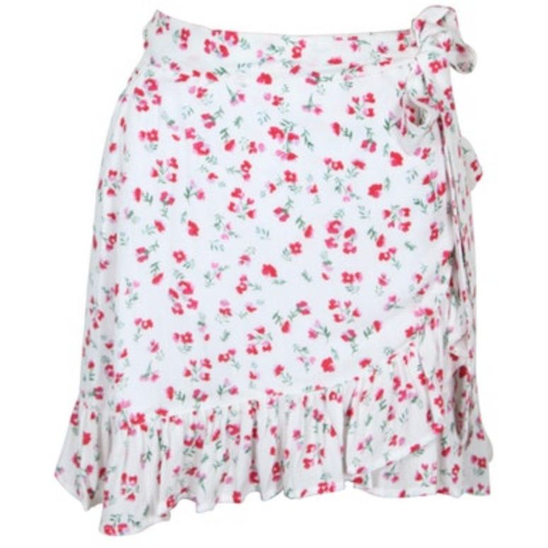 Burma Bloom Mini Skirt