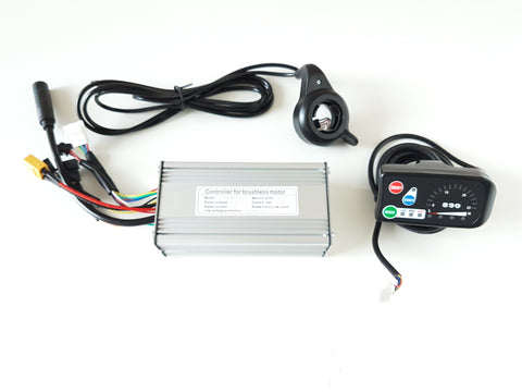 500W Controller with throttle and screen.