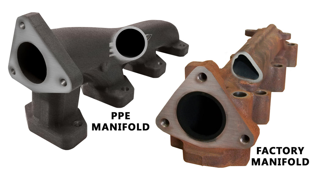 01-15 Duramax PPE Exhaust Manifolds & Up Pipe Kit
