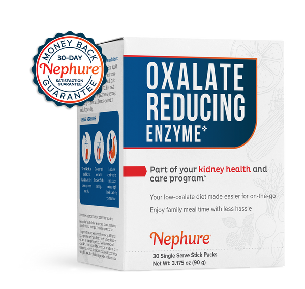 Buy One, Get One Free! Nephure Oxalate-Reducing Enzyme (30-pack)