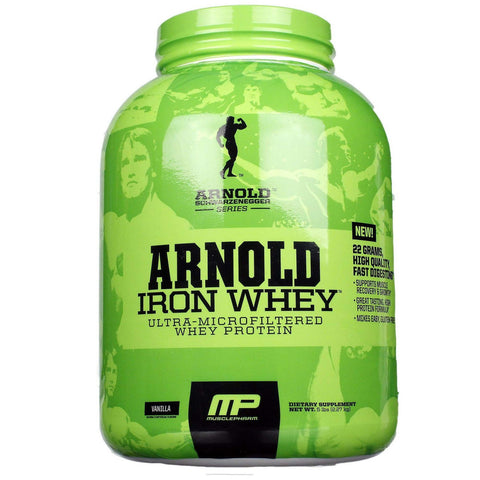 Arnold Iron Whey Vanilla 680g - Ureeka Pharmacy