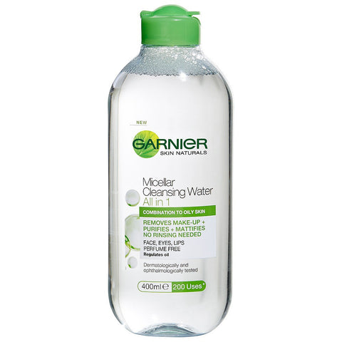 Garnier Micellar Cleansing Water Oily Combination Skin 400ml