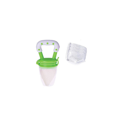 Fresh Food Feeder with bonus 3 replacement nets green