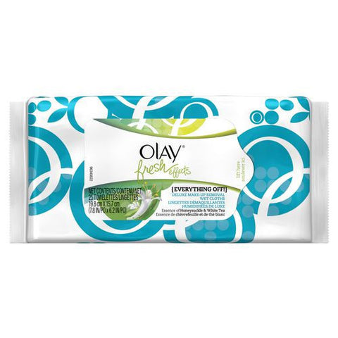Olay Fresh Effects Everything Off Wipes 25pk