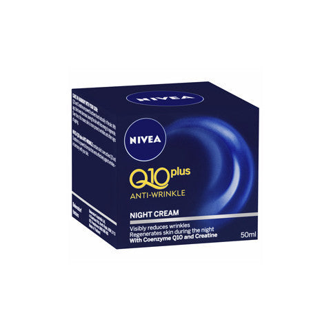 Nivea Visage Q10 Anti-Wrinkle Night Cream 50ml