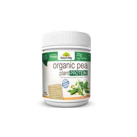 Nature's Way Instant Natural Protein Organic Pea Protein 300g