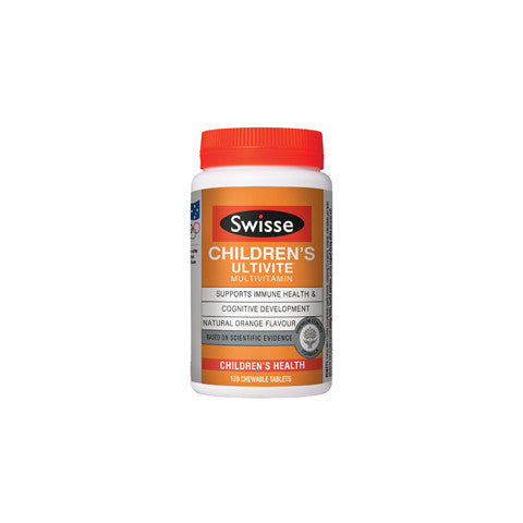 Swisse Children's Ultivite 120 Tabs
