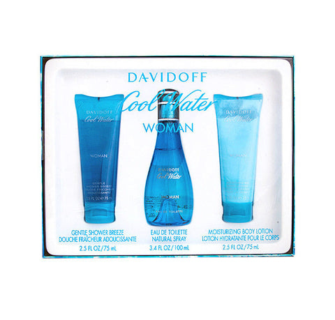 Davidoff Cool Water Woman Gift Set 100ml EDT