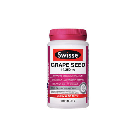 Swisse Ultiboost Grape Seed 14,250mg 180 Tabs