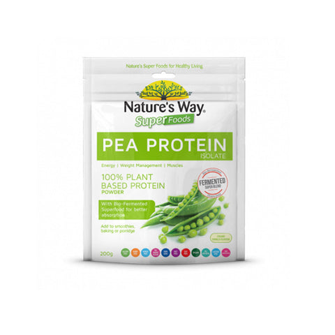Nature's Way Super Foods Fermented Pea Protein 200g