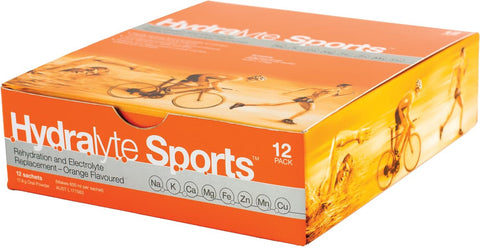 Hydralyte Sports Orange 12 Pack