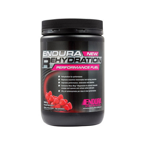 Endura Sport Tub Raspberry 800g