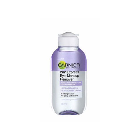 Garnier M/M 2 in 1 Exp Eye makeup remover 125ml