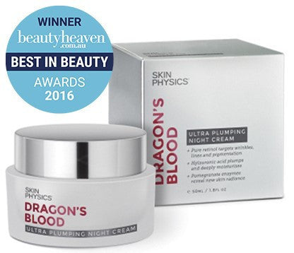 SKIN PHYSICS Dragon's Blood Ultra Plumping Night Cream 50ml - Ureeka Pharmacy
