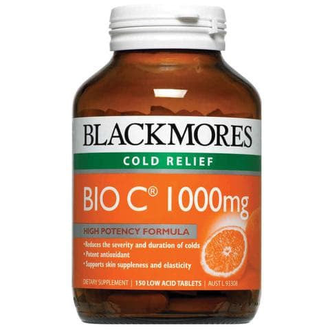 Blackmores Bio C 1000mg Vitamin C 150 Tabs