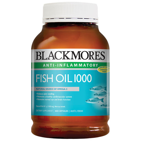 Blackmores Fish Oil 1000mg 400 Caps