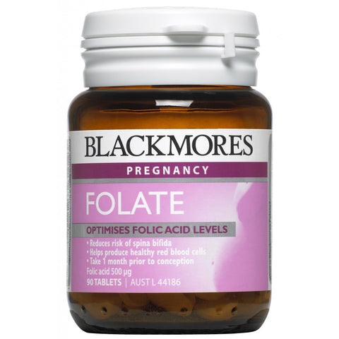 Blackmores Folate 500mcg 90 Tabs