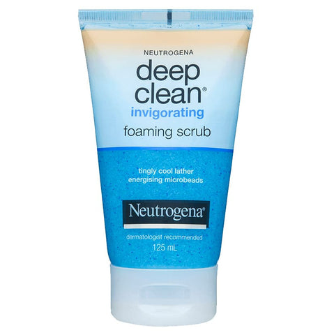 Neutrogena Deep Clean Foam Scrub 125ml