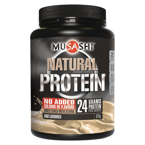Musashi Natural Protein Unflavoured 672g