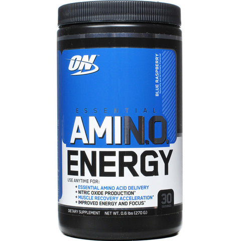 Optimum Nutrition Amino Energy Powder Blue Raspberry 270g