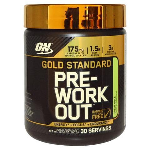 Optimum Nutrition Gold Stand Pre Workout Green Apple 30 Servings