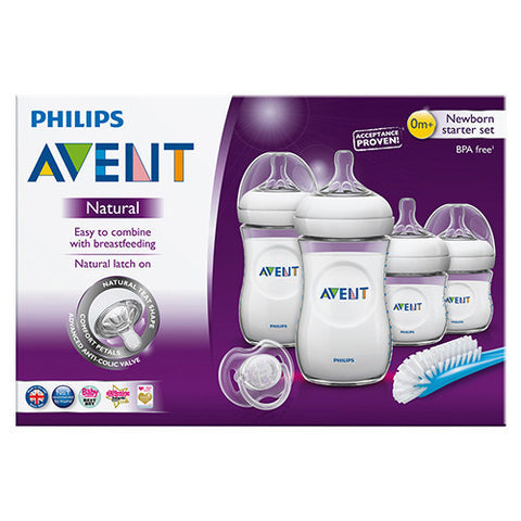 Philips Avent Natural Newborn Starter Set