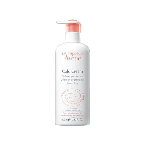 Avene Ultra-Rich Cleansing Gel with Cold Cream 400ml