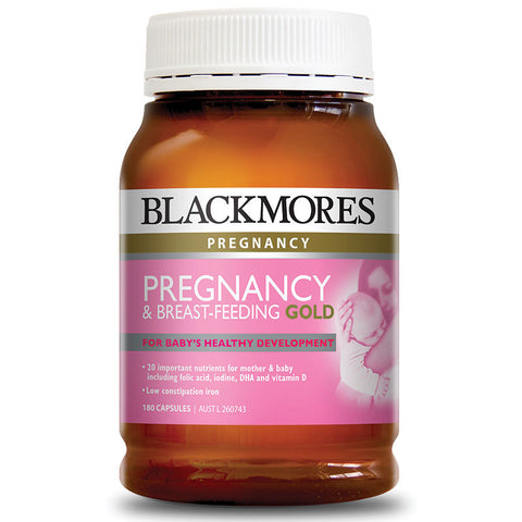 Blackmores Pregnancy and Breastfeeding Gold 180 Caps