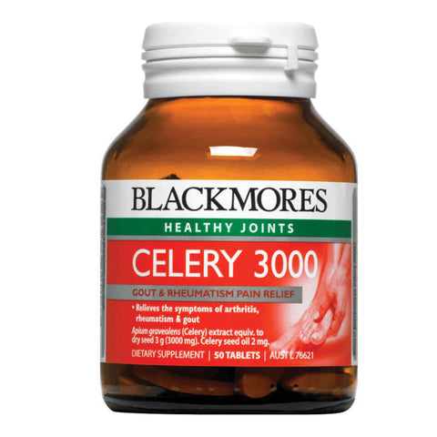 Blackmores Celery 3000 50 Tabs - Ureeka Pharmacy