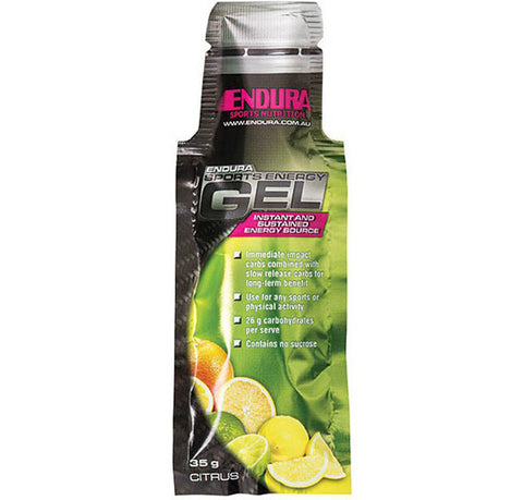 Endura Sports Energy Gel Citrus 35g