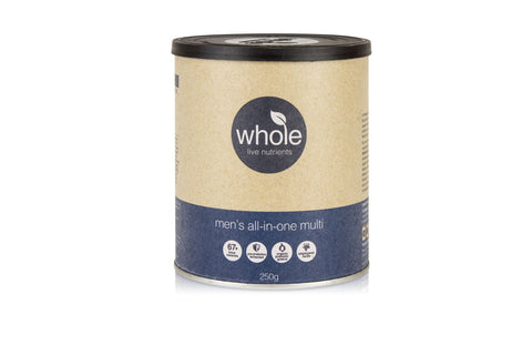 Whole Live Nutrients Mens All In One Multi Vanilla 250g