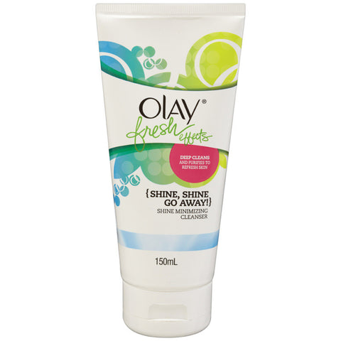 Olay Fresh Effects Shine Minimising Cleanser 150g