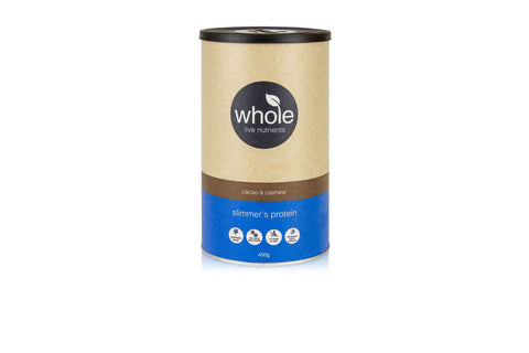 Whole Live Nutrients Slimmer's Protein Cacao and Cashew 450g