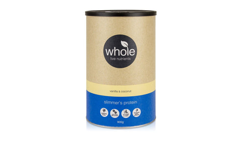 Whole Live Nutrients Slimmer's Protein Vanilla Coconut 900g