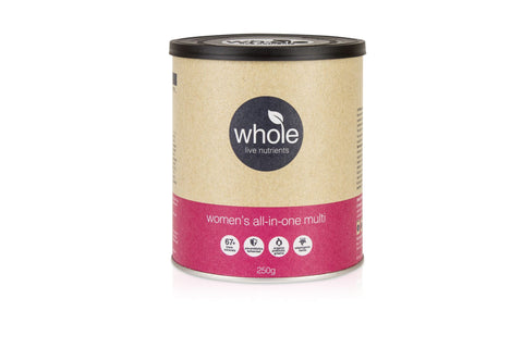 Whole Live Nutrients Womens All In One Multi Vanilla Passionfruit 250g