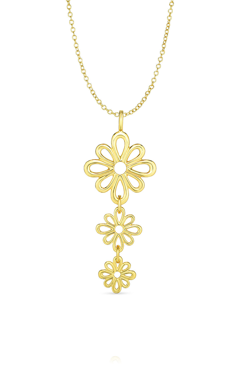 Ramona Singer x ENCIRCLE NYC Small Flower Pendant