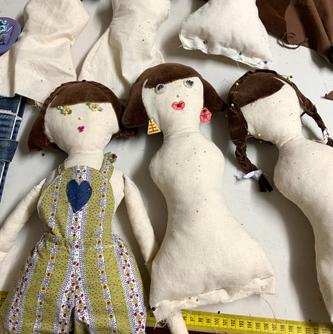Dolls in the making