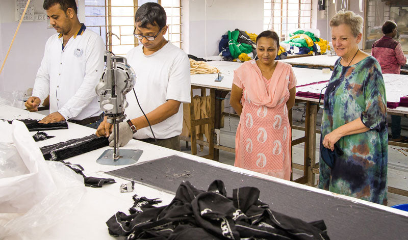 GOTS certified fair trade factory in India