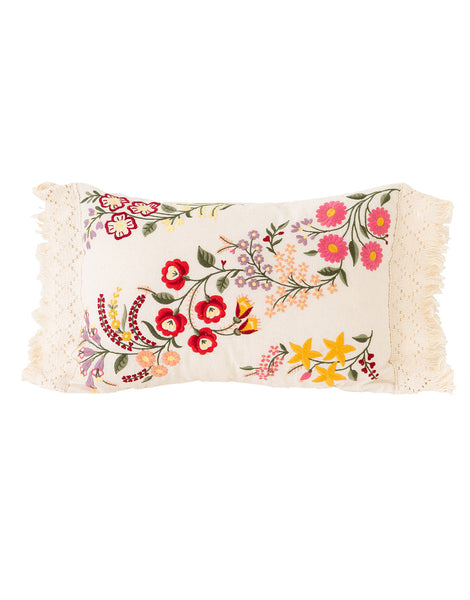 Adelia Rectangle Cushion in Natural